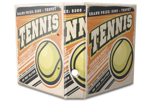 Motiv Akten Ordner Bedruckt 60mm DIN A4 Tennis