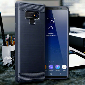 Galaxy-Note-9-Case-Impact-Displacement-Carbon-Fiber-Cover-Blue-PELLE