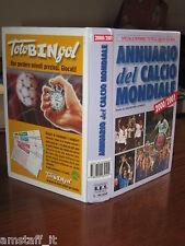 ANNUARIO=ALMANACCO DEL CALCIO MONDIALE=2000/01=2000/2001= WORLD SOCCER YEAR BOOK