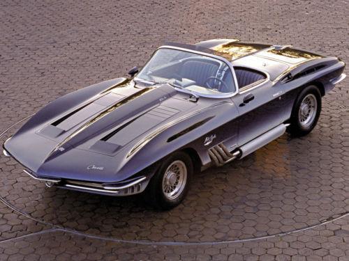 "1962 Chevrolet Corvette Mako Shark Concept Car 11 x 14/""  Photo Print"