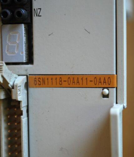SIEMENS 6SN1118-0AA11-0AA0 Module Circuit Board USED