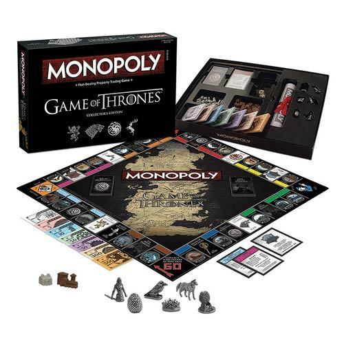 Usaopoly  Game of Thrones monopole  Collectors Edition Board Game a Westeros