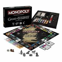 Usaopoly Game Of Thrones Monopoly Collectors Edition Board Game Got Westeros