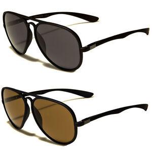 80s-Men-WoMen-Retro-Vintage-Classic-Fashion-Designer-PILOT-Sunglasses-Black-u
