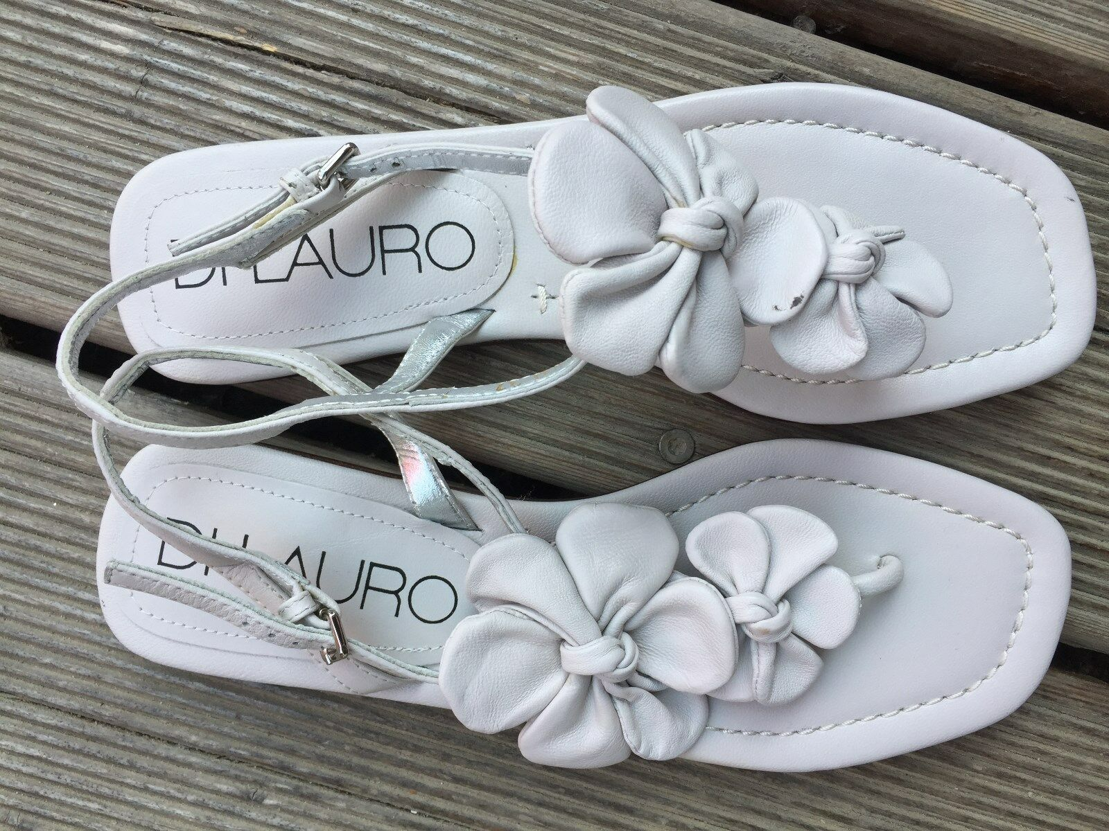 Di Lauro Sandalen Zehentrenner Gr. 37 sehr Schuhe hübsche Schuhe sehr 0e47c4