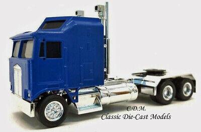 Kenworth K100 Blue Chrome Chassis Long Wheel Base 3 Axle HO 1//87 Promotex 35260