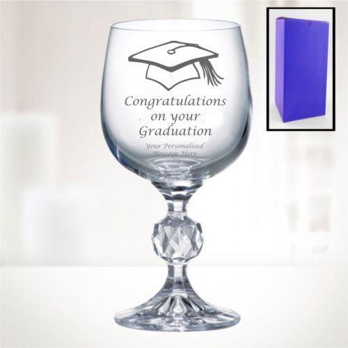 """environ 311.84 g /""""BOHEMIA CRYSTAL/"""" verre à vin avec graduation Design-Boîte Cadeau Inclus 11 Oz"""