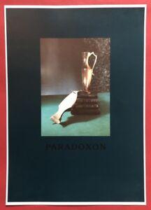Bernhard principe, paradosso, Offset e serigrafia, 1988, firmato a mano e datata