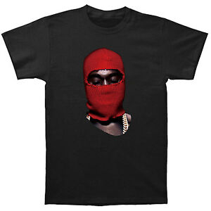 red ski mask yeezus yeezy vinyl shoes poster apc water