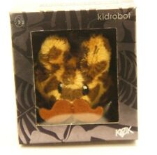"Kidrobot Kozik 2"" Happy Mini Plush Labbit Cute & Crazy Leopard Mustache Pride"