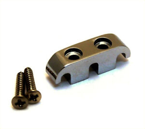 (1) Nickel Noir 3-string étroite Chaîne Guide For Multi-string Bass Bsg-ms-bn-afficher Le Titre D'origine Attrayant Et Durable