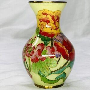 Vintage-Japanese-Glass-Vase-Plique-a-Jour-Cloisonne-Flowers-4-Floral