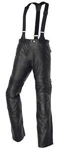 Reducido-Ixs-Grimstad-Hombre-Pantalones-de-Cuero-Moto-Impermeable-con-Tirantes