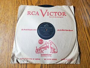 RCA-Victor-Records-78rpm-Jack-Lathrop-amp-The-Drugstore-Cowboys-034-Hair-of-Gold-034