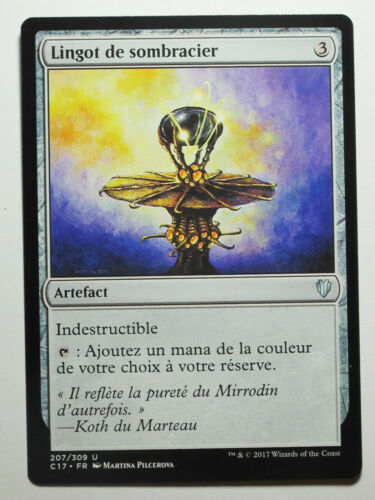 Lingot de sombracier Darksteel Ingot    Mtg Magic Francais