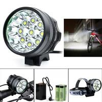 20000lm 7 X Cree Xm-l T6 Led 6 X 18650 Bicycle Cycling Light Waterproof Lamp