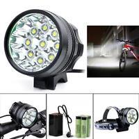 20000lm 7 X Cree Xm-l T6 Led 6 X 18650 Bicycle Cycling Light Waterproof Lamp