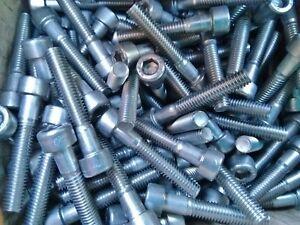 Zylinderschrauben Innensechskant DIN 912 ISO 4762 Stahl verzinkt M8 viele Längen