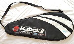 Babolat Raquette De Tennis Cover Drive-z Fermeture Éclair Sac étui Noir Bandoulière-afficher Le Titre D'origine ArôMe Parfumé