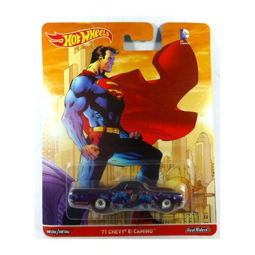 Superman 1:64 NEU!° Hot Wheels DLB45-DJG90 Chevrolet El Camino schwarz//lila