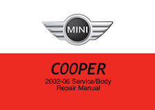 Mini Cooper & Cooper S 2002 - 2006 Service Repair Workshop Factory Manual Disc