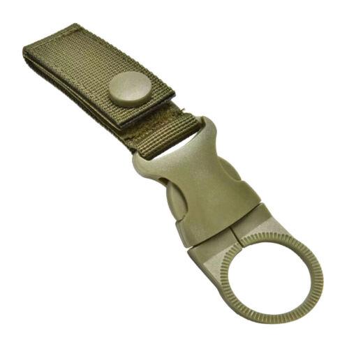 2pcs Molle Hanging Strap Webbing Buckle Clip Key Water Bottle Hook Belt Tool