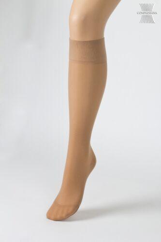 Calze 2 Paia Calze Sottili ginocchio di Compressanafinemente calza Ginocchio 140den