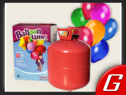 NEU Helium Ballon Balloon Time A A A La Carte 50 Ballongas 961ec3