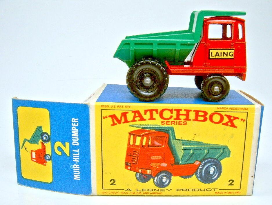 Matchbox rw 02c muir hill, der perfekt selten sp ä te  e  - box