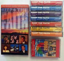 Keep the Faith TVFirst 7 Audio Cassettes, Booklet & VHS Video 1996 +2 from 2000