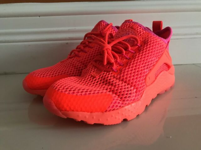 08db4eb0d2a3 WMNS Nike Air Huarache Run Ultra BR Breeze Red Orange Womens Shoes  833292-800 6