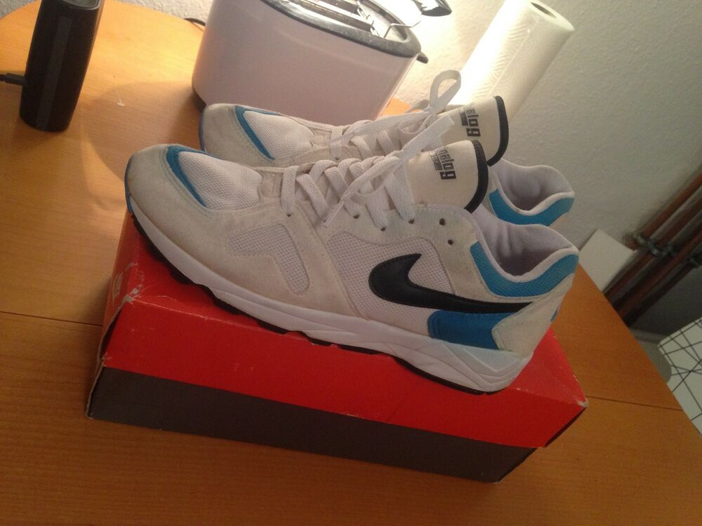 Nike Nike Nike Air analogique vintage 1992 Bleu/blanc Bleu/blanc 1992 1f6117 e5e5c4