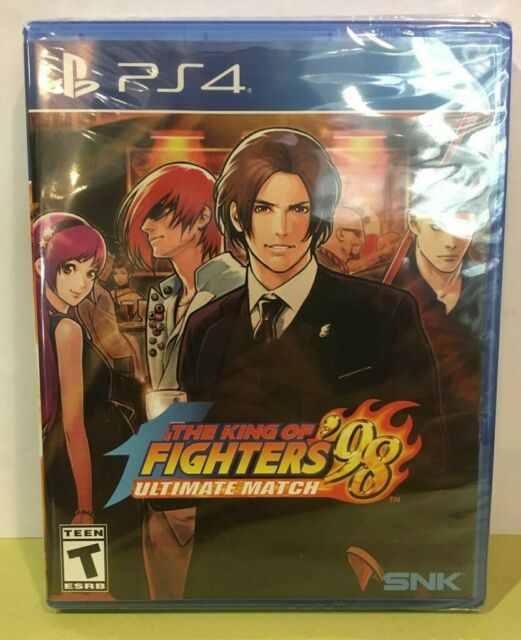 ¤¤RARE¤¤ THE KING OF FIGHTERS 98 - ULTIMATE MATCH - Neuf - PS4 - Limited Run -