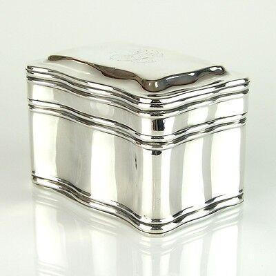 WMF Silver Plated Jewelry Box Tea Caddy Germany Ca 1920