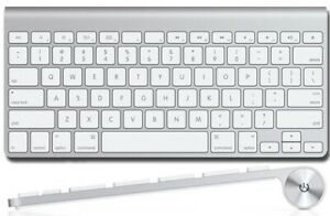 Apple A1314 Wireless keyboard Used, Bluetooth, 2xAABattery powered(not included)