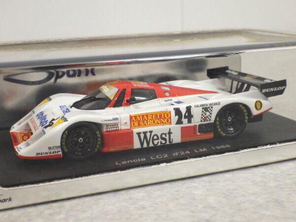 Spark 1 43 Lancia LC2 Le Mans 1988 S0658