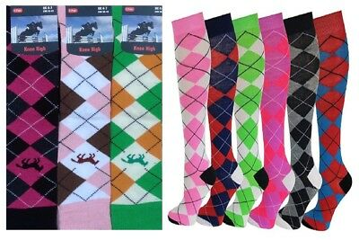 Ladies Women Girls Sockaholic Horse Print Colourful Everyday Design Socks UK Lot