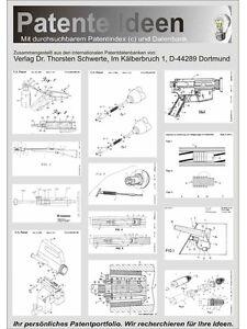 Waffen, Gewehre, Pistolen reinigen 1200 Seiten Patente