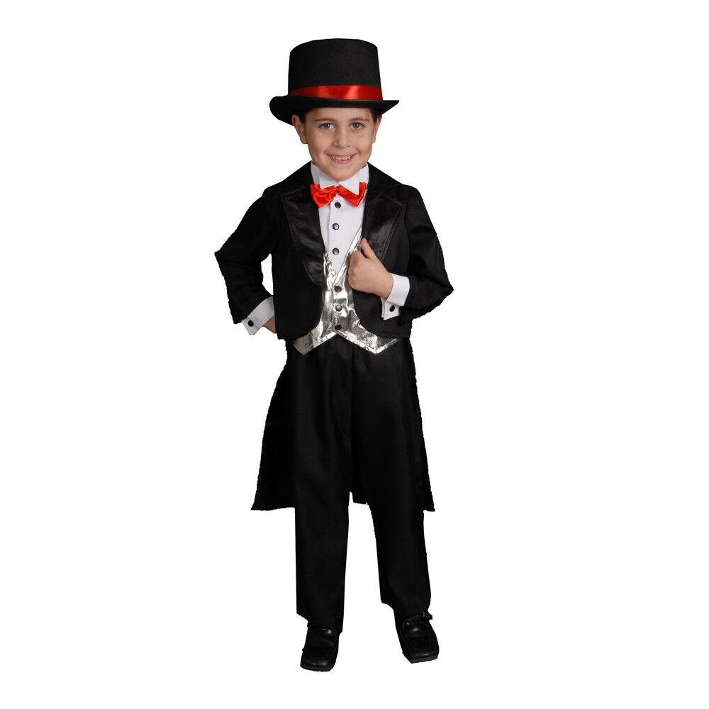Dress up America Kids Black Fashion Tuxedo Costume Outfit Set