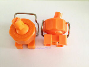 2pcs Spraying System Clip-Eyelet spray nozzle Adjustable spherical clamp buckle
