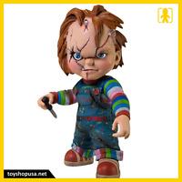 Childs Play Bride Of Chucky Chucky Vinyl Figure Mezco Toys