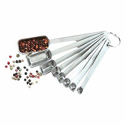 Norpro 3063 8-Piece Stainless Steel Measuring Spoon Set