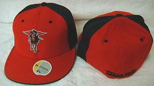 25050a6f36351 NCAA Texas Tech Red Raiders Sports cap - New Era Fitted Cap | eBay