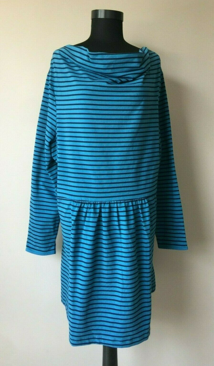 Deerberg Damen kleid Lang Bluse Tunika gr.2XL