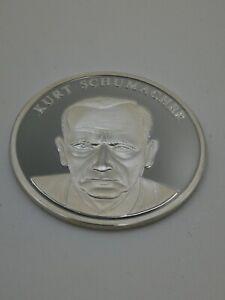 MUNZE-MEDAILLE-KURT-SCHUMACHER-50-JAHRE-BUNDESREPUBLIK-DEUTSCHLAND-SILBER-999