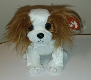 Ty Beanie Baby - REGAL the King Charles Spaniel Dog (6 Inch) MINT with MINT TAGS