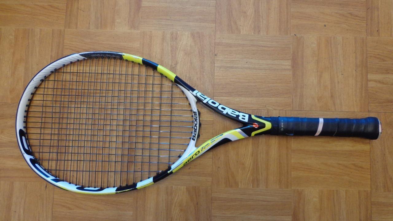 2010 BABOLAT aero pro Drive GT 100 Head Nadal 4 3 8 grip raquette de tennis