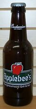 BUDWEISER - 2001 - APPLEBEE'S - KING PITCHER - LARGE GLASS BOTTLE