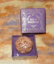 Krishna Musk NEW Song of India Solid Perfume Sealed Handcarved Soapstone Jar