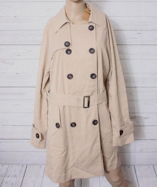 timeless design dcf4e 87f3e True Religion Damen Trenchcoat Mantel Trench Coat Gr. L